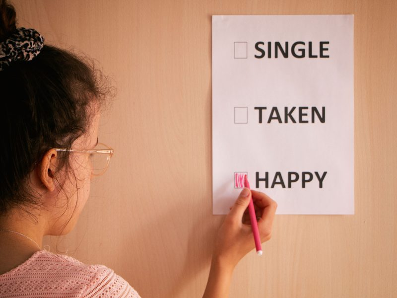HAPPY SINGLE // TOEKOMSTDROMEN